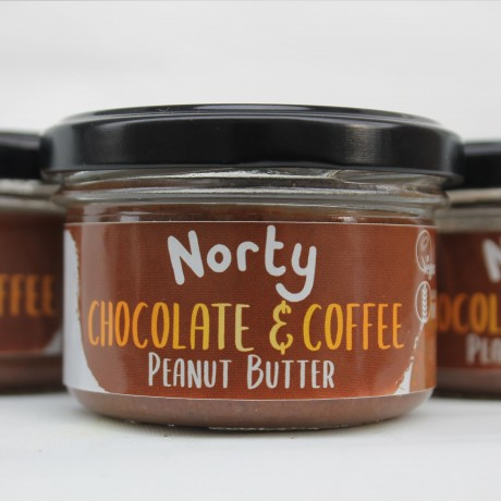 Chocolate and Coffee Peanut Butter