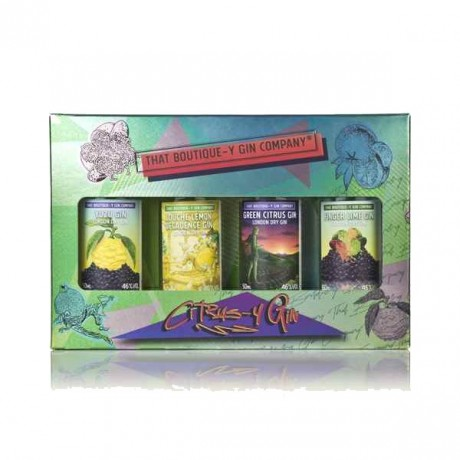 That Boutiquey Gin Company Citrus Gin Gift Set