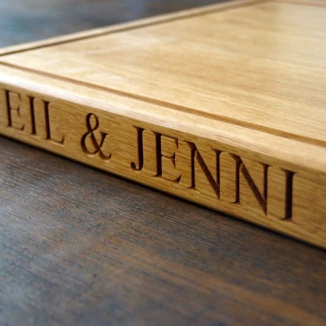 Personalised Wooden Cheeseboard