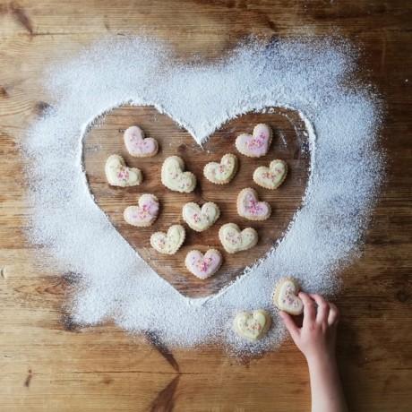 Very Vanilla Cookie Dough (Gluten Free, Vegan, Refined Sugar Free)