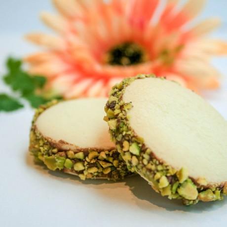Authentic Venezuelan Alfajores | Hazelnut & Pistachios Biscuits (Pack of 4)