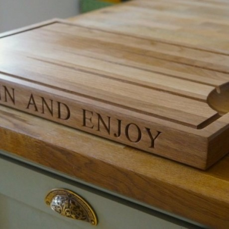 Personalised Wooden Carving Board