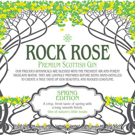 Rock Rose Gin Spring Edition
