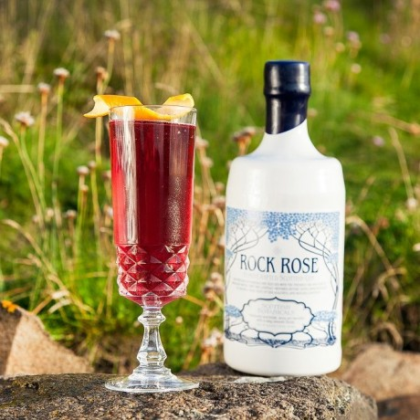 Rock Rose Gin Autumn cocktail