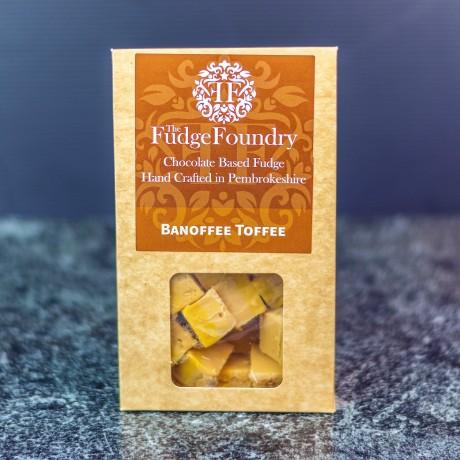 Banoffee Toffee Fudge