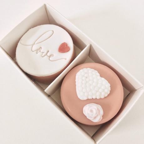 Valentine Coated Oreo Duo Gift Box