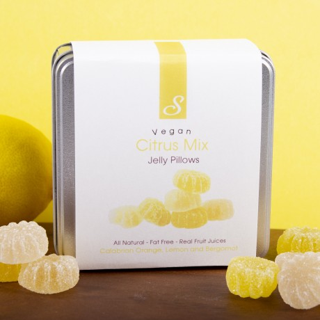 Vegan Citrus Mix - Luxury Italian Jellies Made with Real Fruit Juices