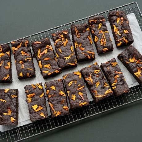 Mango & Ginger Brownie- Vegan & Gluten Free (14 Slices)