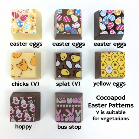 cocoapod chocolates personalised happy easter chocolatesHave a Cracking Easter Chocolates