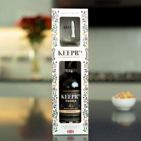 Keepr's Espresso Vodka Gift Box