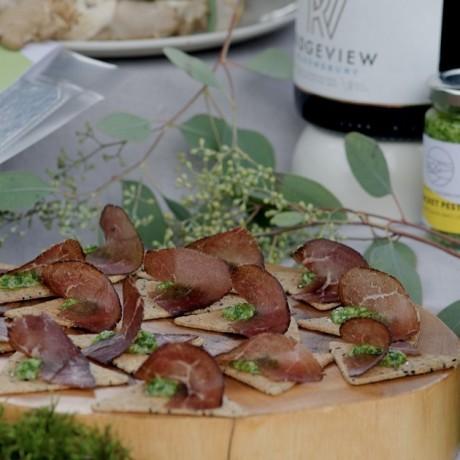Sussex beef bresaola