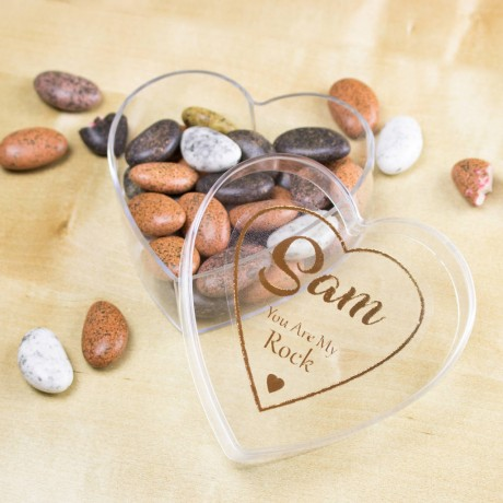 Personalised 'You Are My Rock' Vegan Luxury Gift