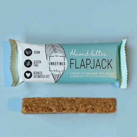 Almond Butter Flapjack (No refined sugar & Vegan)