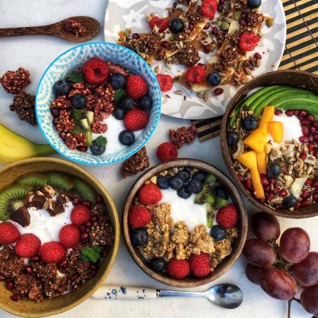 Raw Gorilla Organic Keto Breakfast Taster Multipack 4x250g