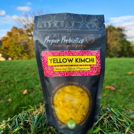 Raw Yellow Kimchi (Pack of 3)