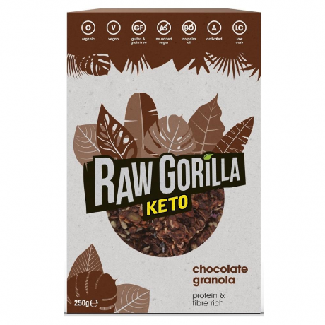 Raw Gorilla Chocolate Granola Keto