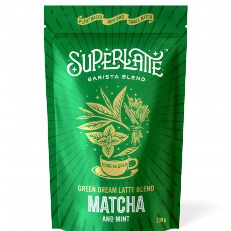 Green Dream Latte Blend - Matcha & Mint 200g