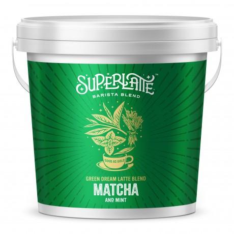 Green Dream Latte Blend - Matcha & Mint 750g