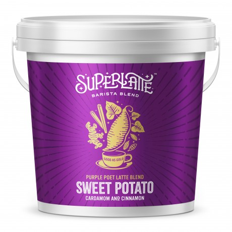 Purple Poet Latte Blend - Purple sweet potato, Cinnamon & Cardamom 750g
