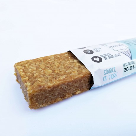 Vegan Almond Butter Flapjack | No Refined Sugar (8 Bars)