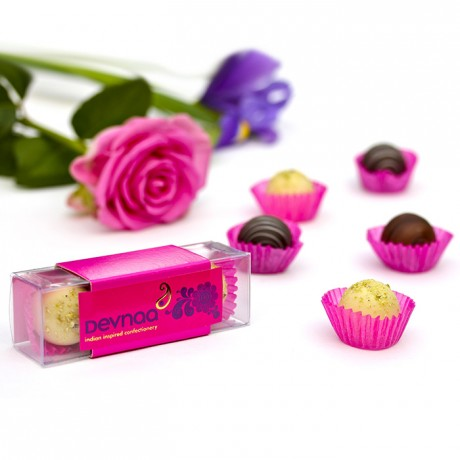 Indian-inspired Chocolate Box Favours - 3 Piece