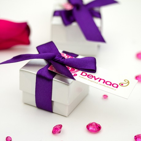 Indian-Inspired Chocolate Box Favours