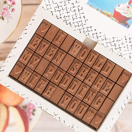 chocolate gift for her