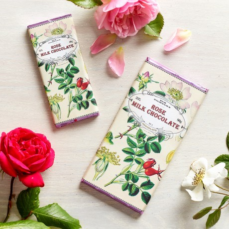 Handmade Botanicals Rose Milk Chocolate Bars (3 pack)