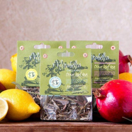 Organic Olive Leaf Tea with Organic Pomegranate - 2 pack