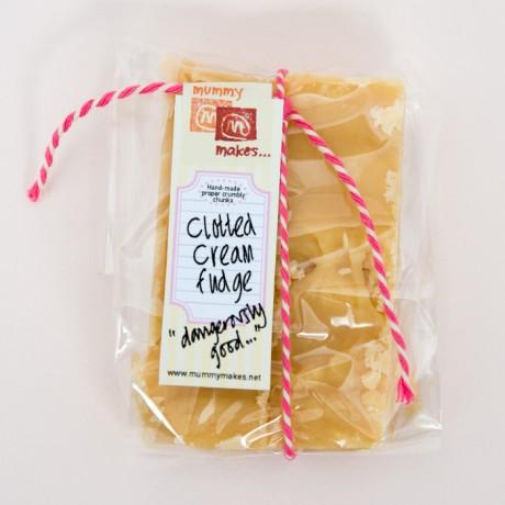 Handmade Clotted Cream Fudge