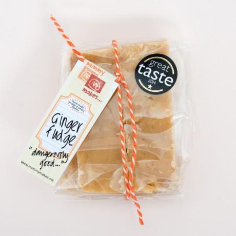 Handmade Ginger Fudge