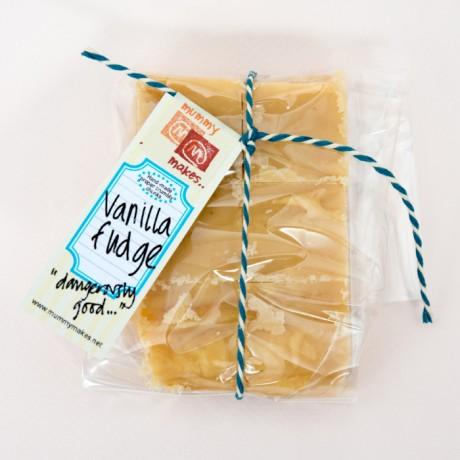 Handmade Vanilla Fudge