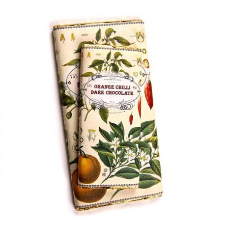 Handmade Botanicals Orange Chilli Dark Chocolate Bars (3 pack)