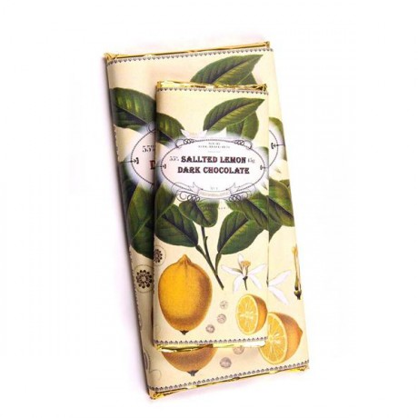 Handmade Botanicals Salted Lemon Dark Chocolate Bars (3 pack)