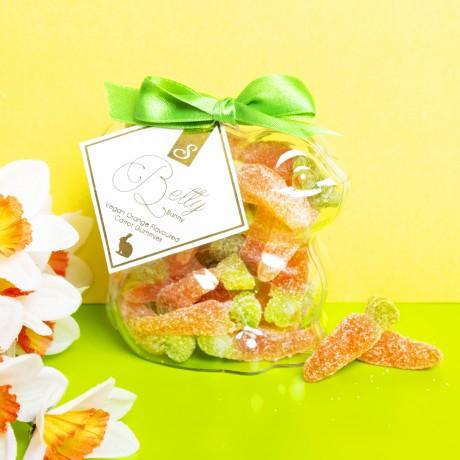 Vegan Fizzy Carrots 'Betty Bunny' Orange Flavoured Gummies