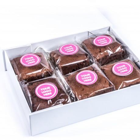 Branded Brownie Box