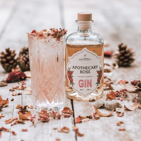 Organic Apothecary Rose Gin (50cl)