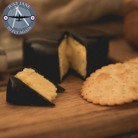 Just Jane Mature Cheddar Cheese Truckle (200g)