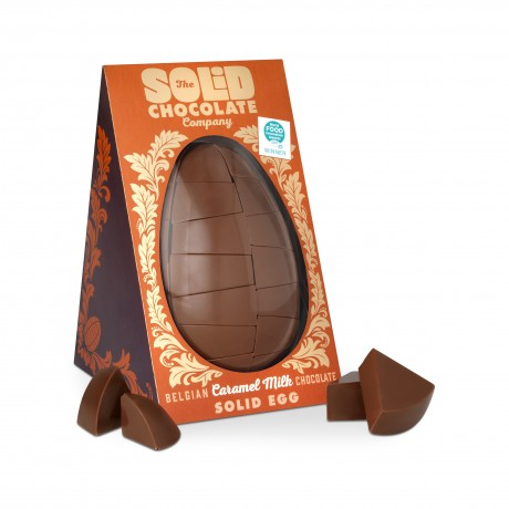 Egg in its packaging