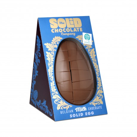 Belgian Milk Chocolate Egg in its box