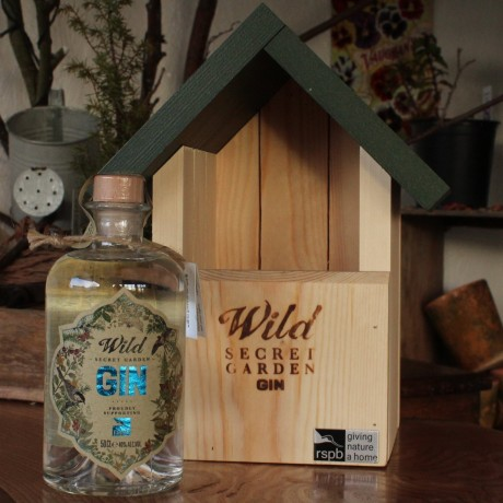 Organic Wild Gin With Bird Box Gift Set (50cl)