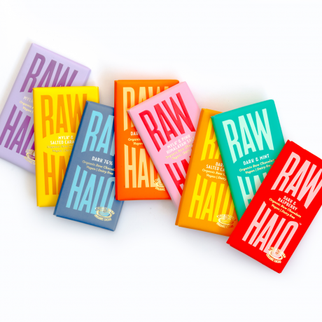 Raw Halo Vegan Chocolate Collection