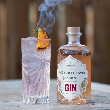 Organic Pink Elderflower and Jasmine Colour Changing Gin (50cl)