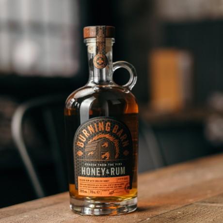 Burning Barn - Honey & Rum Liqueur (70cl)