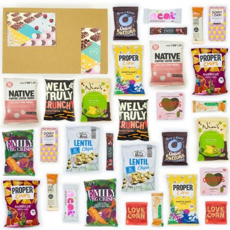 Nut-Free Snack Box 30