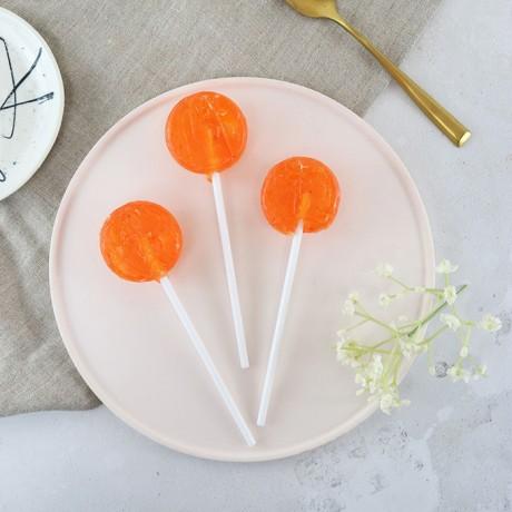 Alcoholic Passion Fruit Mojito Lollipops