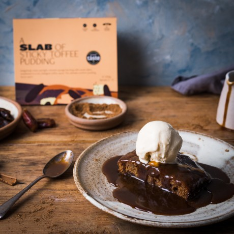sticky toffee pudding ( serving suggestion with icecream)