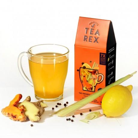 TEA REX - Fresh Turmeric, Ginger, Lemon and Black Pepper Infusion