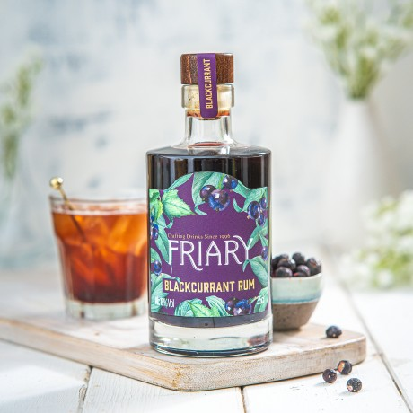 Blackcurrant Rum Liqueur