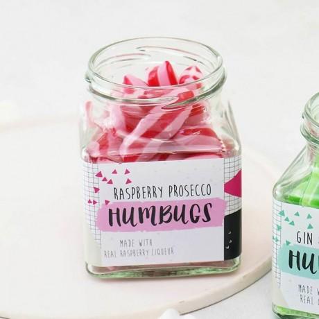 Raspberry Prosecco Humbugs